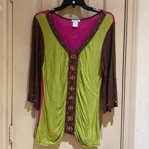 Krista Lee blouse size M